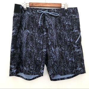 Lululemon Channel across Swim Board Shorts in Blue